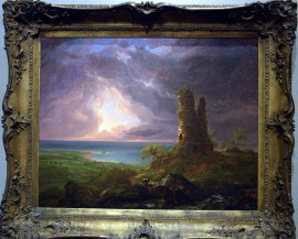 The Ruined Tower, one of my favorite images at the Albany Institute